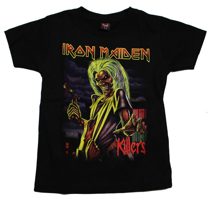 Iron maiden killers Barn t-shirt