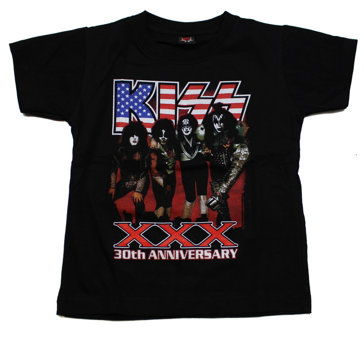 Kiss XXX barn t-shirt