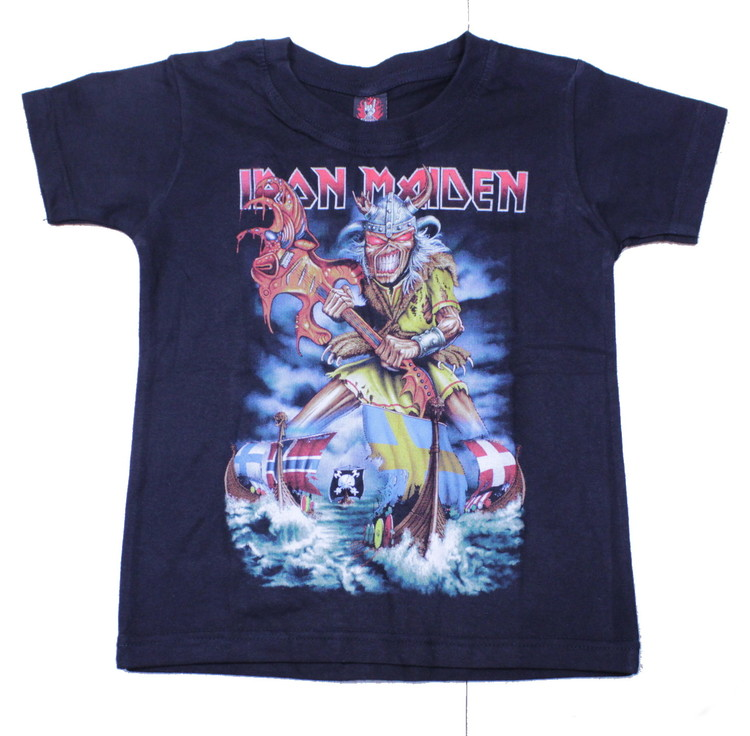 Iron maiden vikings Barn t-shirt