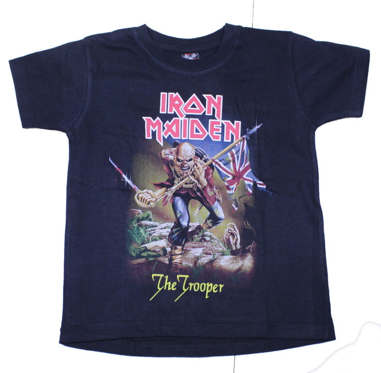 Barn t-shirt Iron maiden the trooper