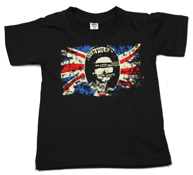 Sex pistols God save the queen Barn t-shirt