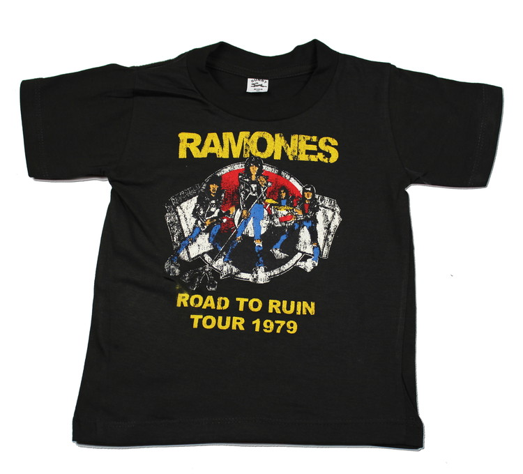 Ramones Road to ruin vintage Barn t-shirt