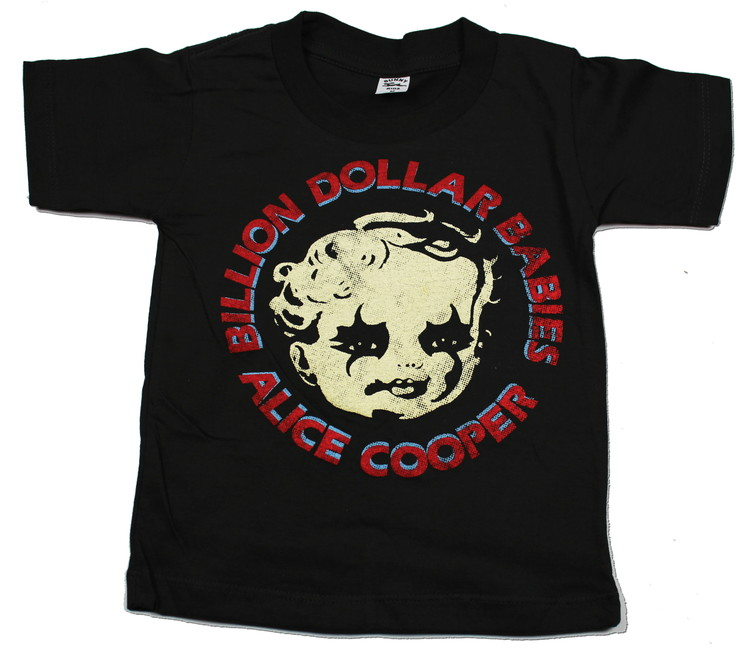 Alice cooper Billion dollar babies Barn t-shirt
