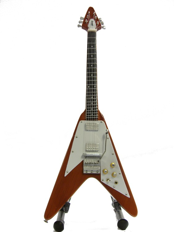 Gibson Flying V Brown natural wood