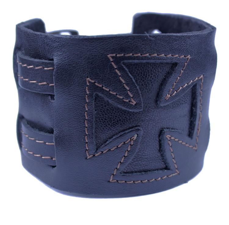 Läderarmband Malteser