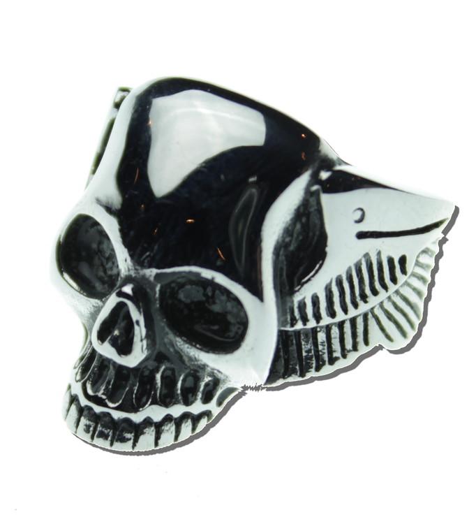 Skull/wings