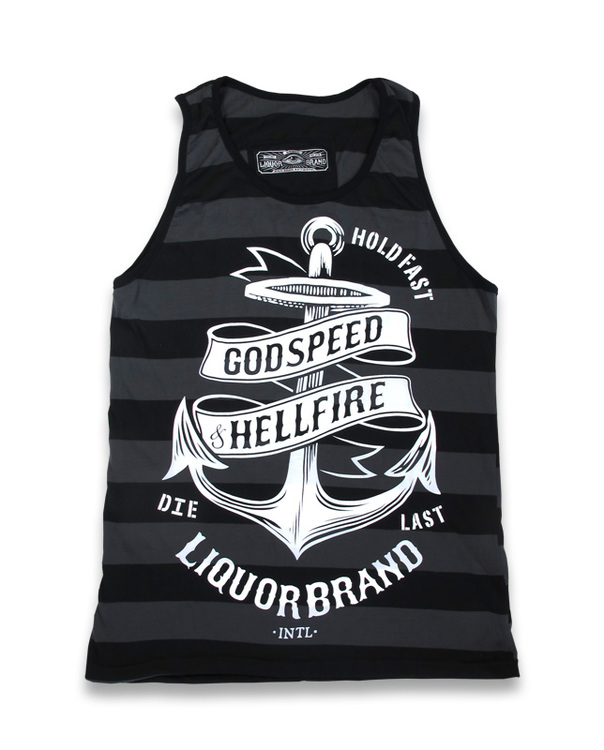 Liquorbrand linne God speed/ Hell fire