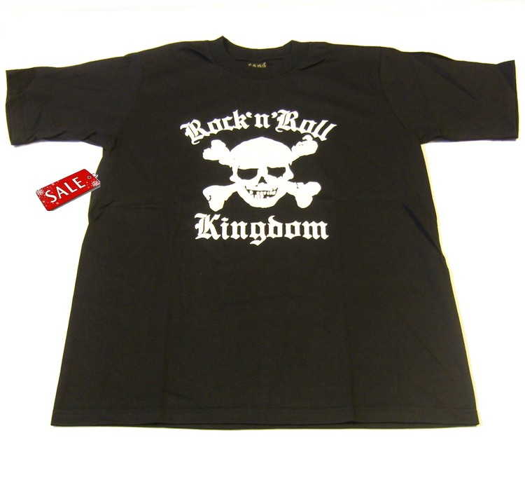 T-shirt Rock n roll kingdom
