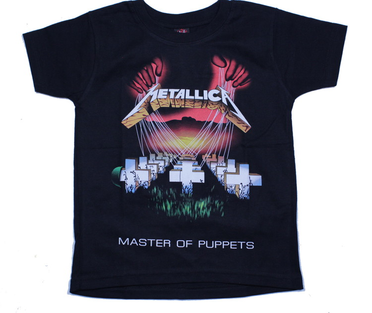 Metallica master of puppets barn t-shirt