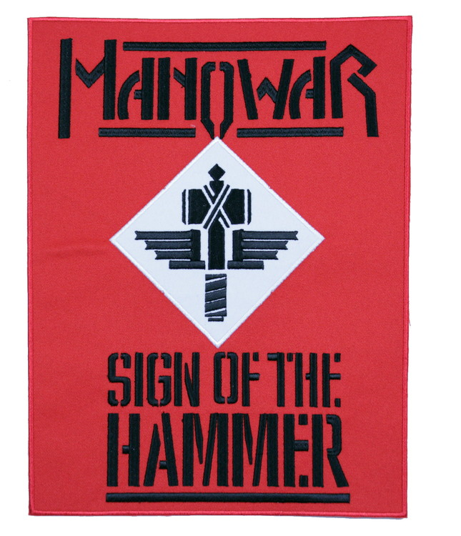 Manowar sign of the hammer XL