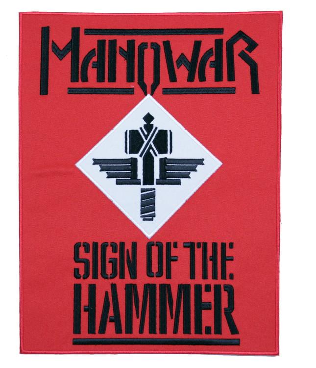 Manowar sign of the hammer XL
