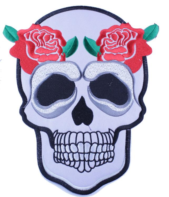 Skull/roses XL