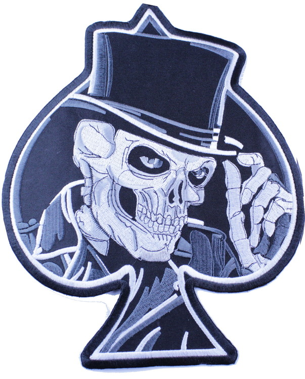 Skull/ ace of spades