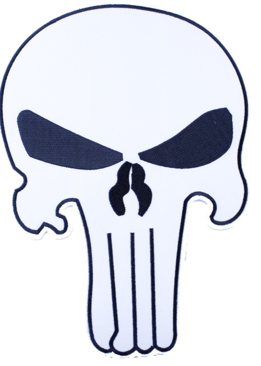 Punisher white XL