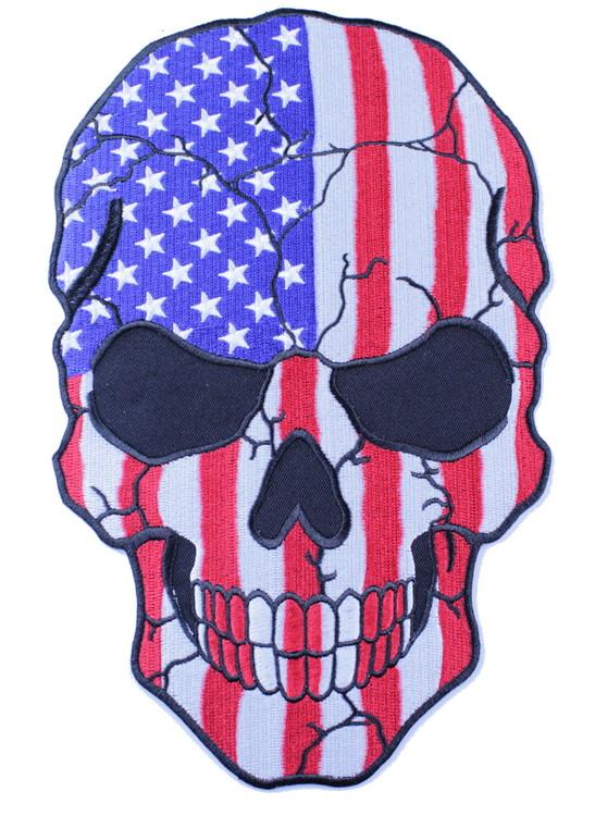 USA skull XL