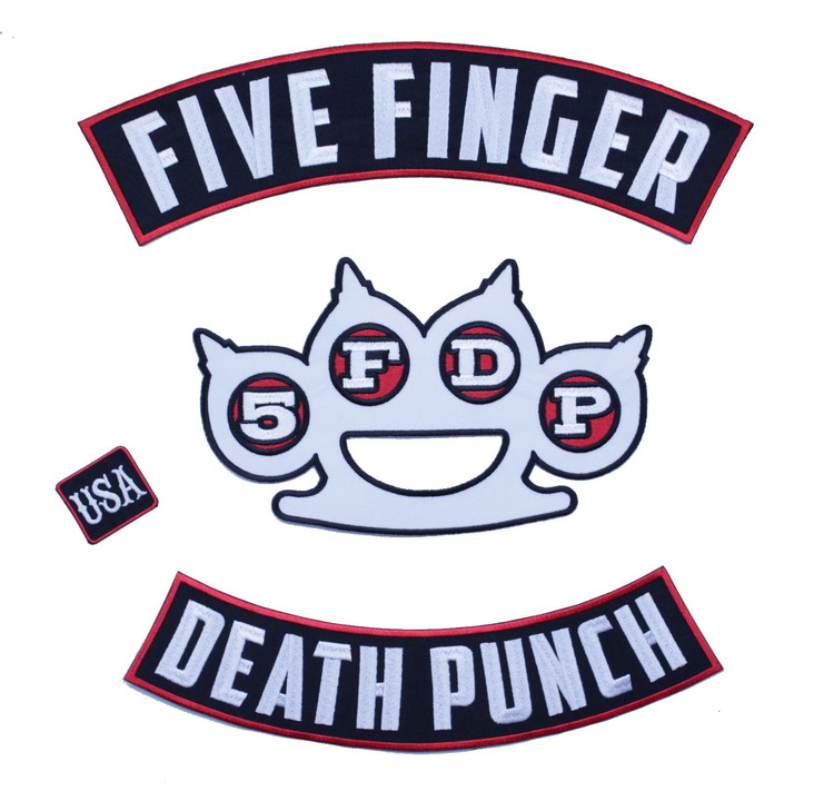 Five finger death punch backpatch