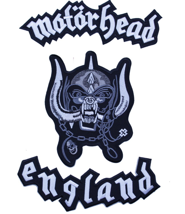 Motörhead backpatch XL