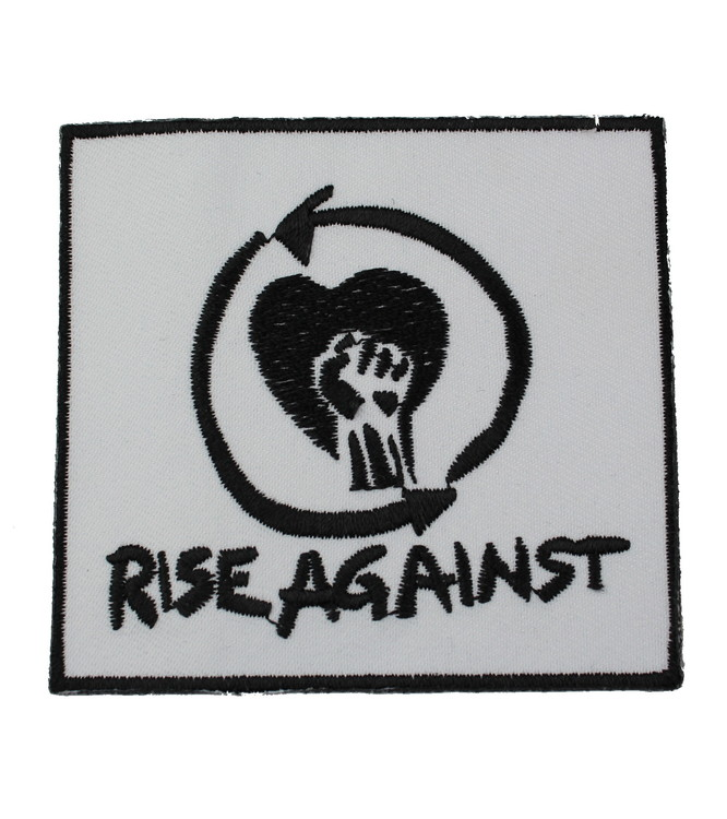 Rise against white