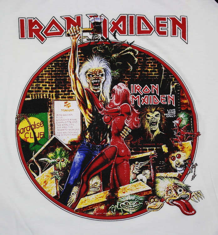 Iron maiden Bring your daughter to the slaughter baseballshirt