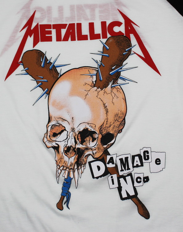 Metallica Damage ink baseballshirt