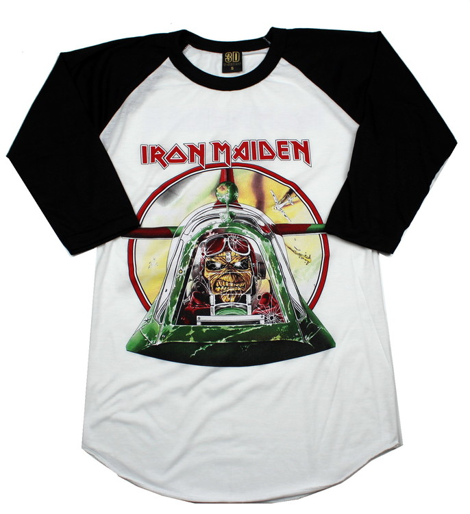 Iron maiden Aces high baseballshirt