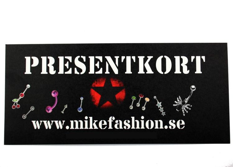 Presentkort 400 kronor