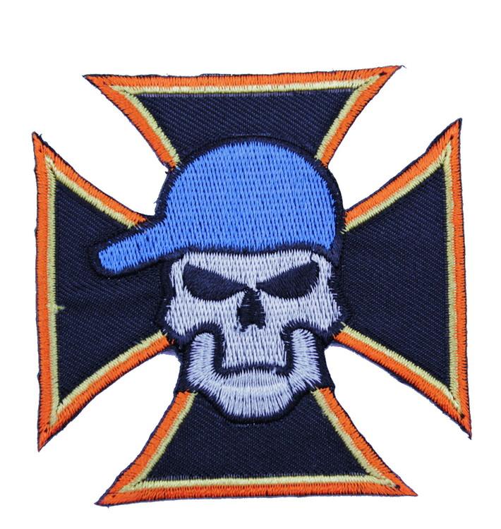Malteser/skull/cap