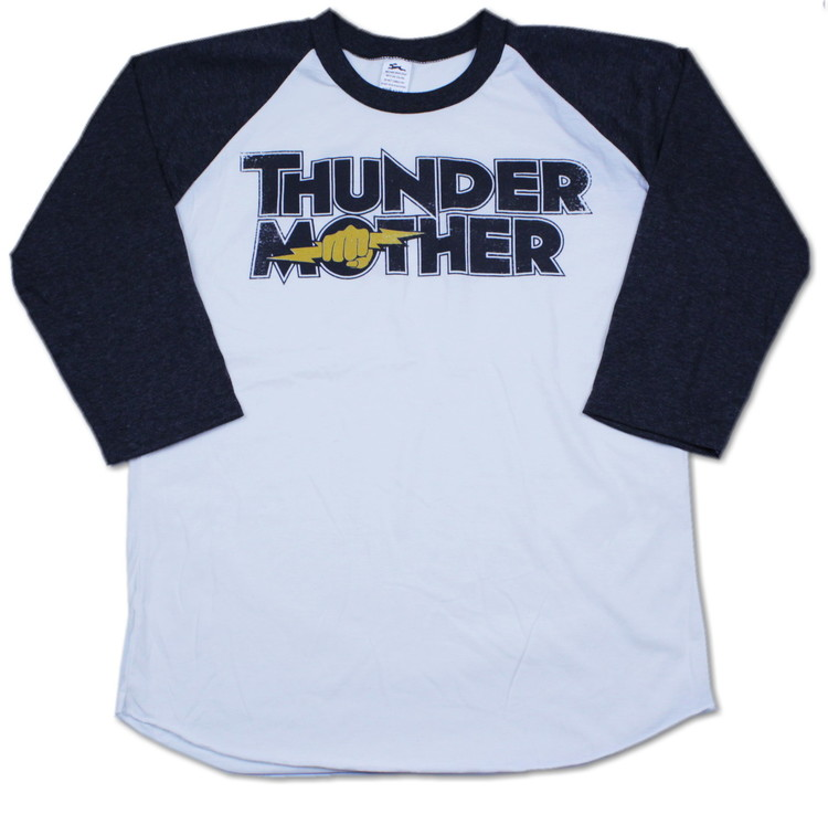 Thundermother raglanshirt Black
