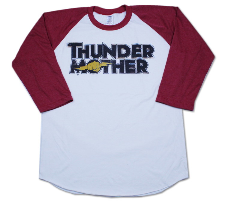 Thundermother raglanshirt Red