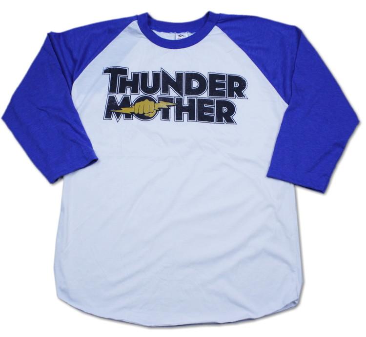 Thundermother raglanshirt Blue