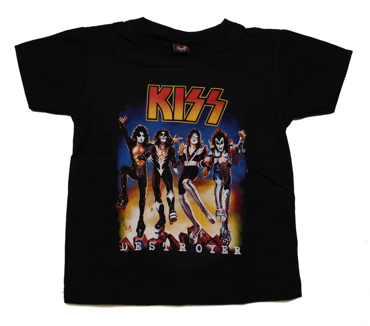 Barn t-shirt Kiss Destroyer