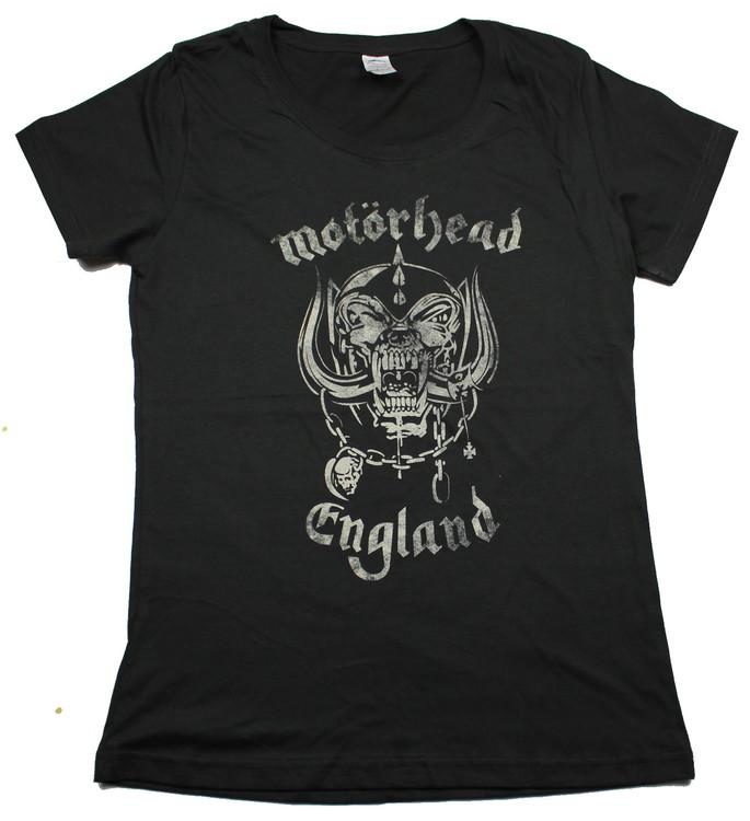 Motörhead england Girlie t-shirt