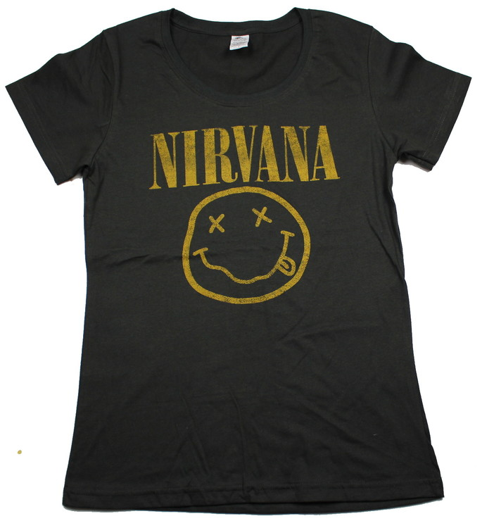 Girlie t-shirt Nirvana