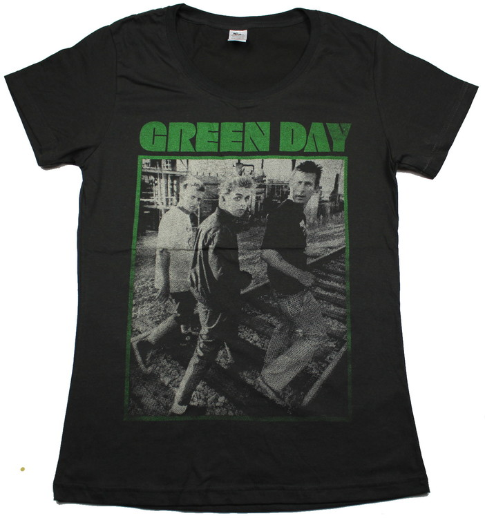 Girlie t-shirt Green day