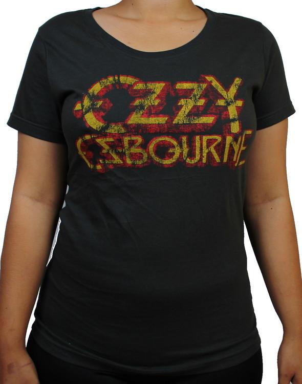 Ozzy Ozbourne Girlie t-shirt