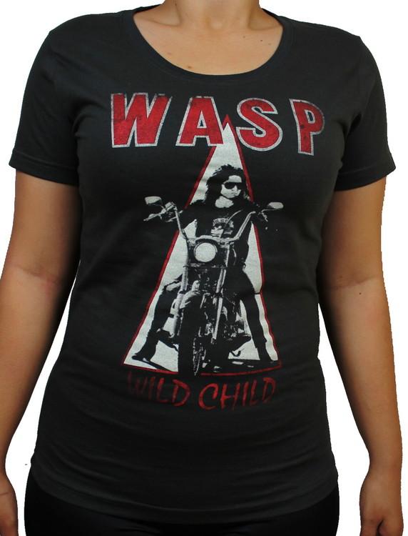 Wasp Wild child Girlie t-shirt