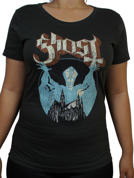Girlie t-shirt Ghost