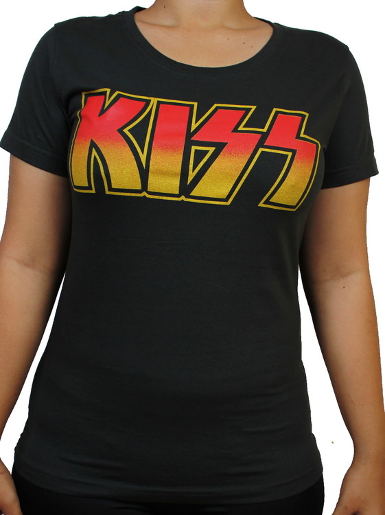 Girlie t-shirt Kiss