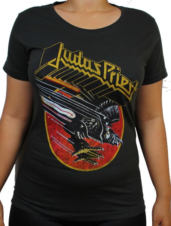 Judas priest screaming for vengance Girlie t-shirt