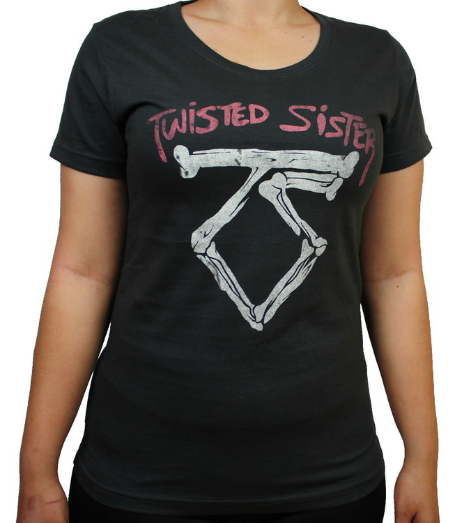 Twisted sister Girlie t-shirt