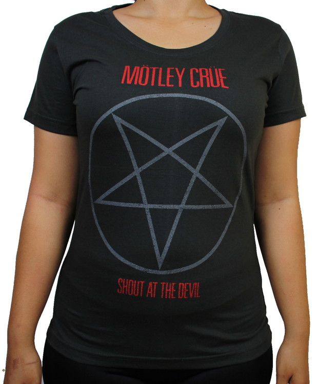 Mötley crue Shout at the devil Girlie t-shirt