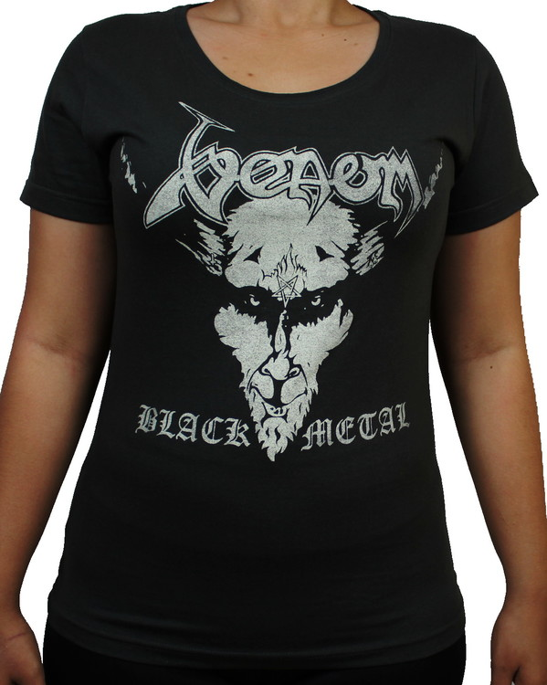 Girlie t-shirt Venom Black metal