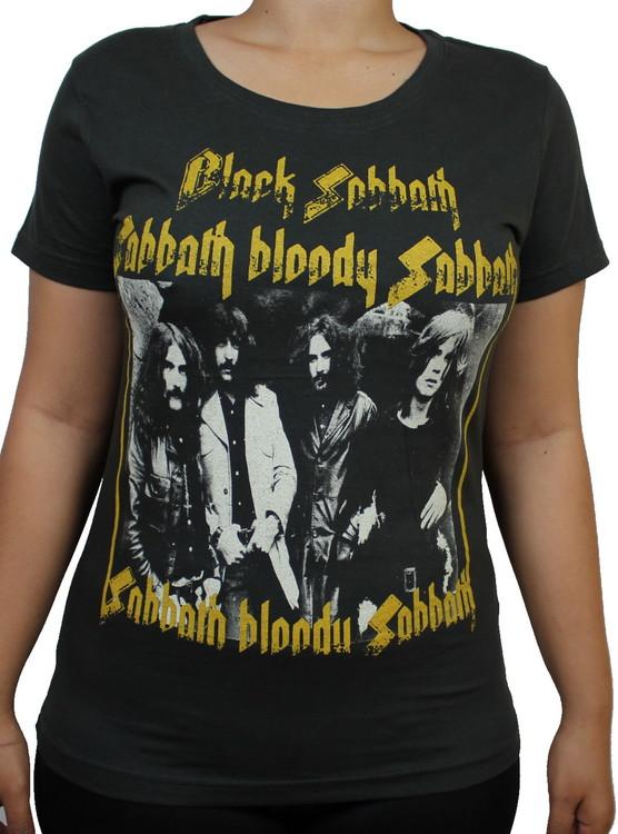 Black sabbath Sabbath bloody sabbath Girlie t-shirt