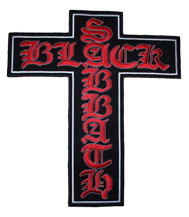 Black sabbath cross XL
