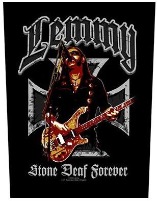 Lemmy Back Patch: Stone Deaf