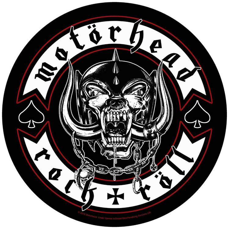 Motörhead Back Patch: Biker