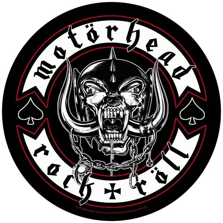 Motörhead Back Patch: Biker