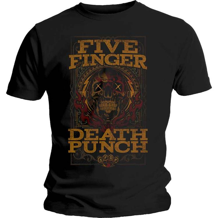 "Five Finger Death Punch ""Wanted"" T-shirt"