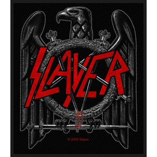 Slayer Standard Patch: Black Eagle