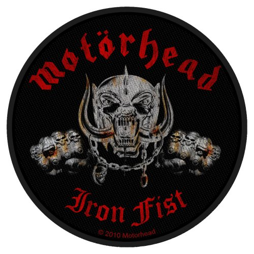 Motorhead Patch: Iron Fist